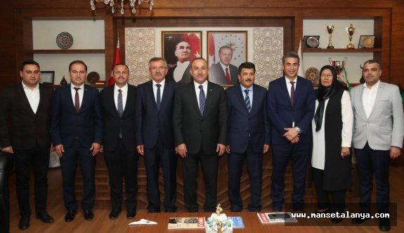 Çavuşoğlu: Antalya Büyükşehiri kazanamadık buruğuz!