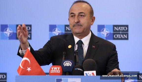 """Çavuşoğlu """"Haddinizi bileceksiniz"""""""
