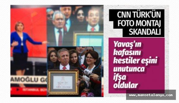 CNN Türk'ün Ekrem İmamoğlu fotomontaj skandalı! Yavaş'ın eşini unuttular...