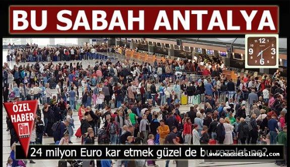 DHMİ Antalya'da bunu rapor etti mi?