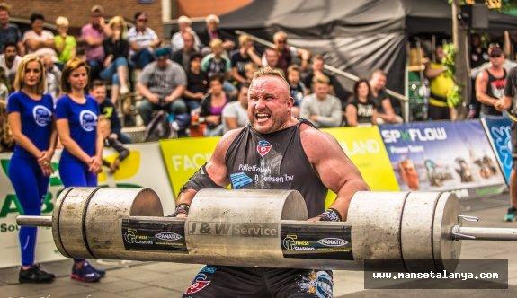 Dünya'nın en güçlü sporcuları Alanya'ya geliyor!