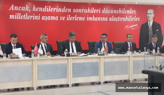 Meclis başkan vekili Aydoğan'dan faaliyet raporu açıklaması