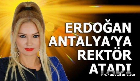 Profesör Kamile Akgül Antalya AKEV'e rektör olarak atandı