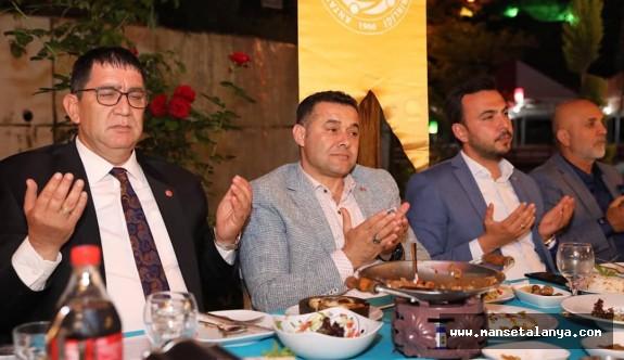 AESOB Alanya da iftar daveti verdi...