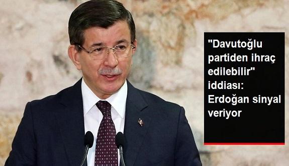 """""""Ahmet Davutoğlu AK Parti'den İhraç Edilebilir"""" İddiası: Erdoğan Sinyal Veriyor"""