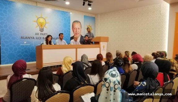 Ak Parti Alanya teşkilatı çalışmaları masaya yatırdı