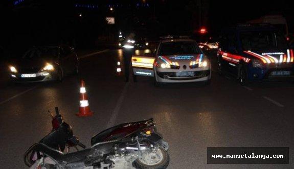 Alman turist, motosiklet kazasında hayatını kaybetti