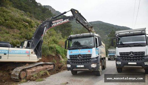 Antalya büyükşehir ile Alanya belediyesi arasında ilk işbirliği...