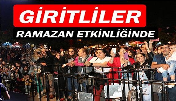 Antalya Giritliler Derneği, Ramazan etkinliklerinde!