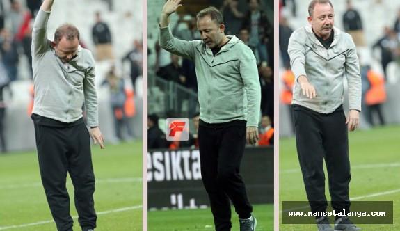 Beşiktaş stadında Sergen Yalçın damgası...