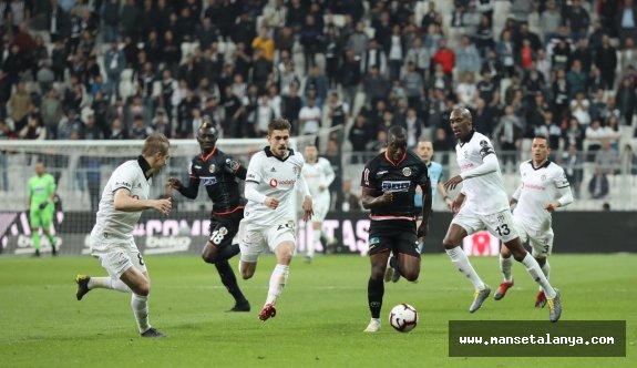 Bir garip maç Beşiktaş''ın...