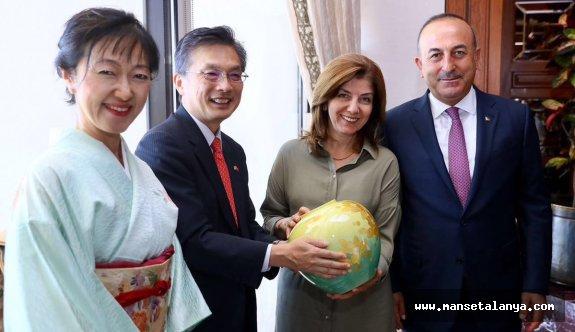 Çavuşoğlu'na Japonya'da devlet nişanı