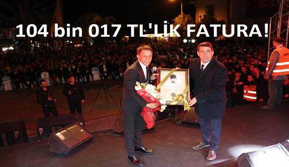 Gazipaşa'da Ak Partinin aday tanıtımında sahne alan sanatçının parasını belediye ödemiş...
