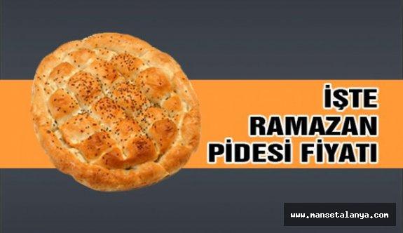 İşte Alanya'da Ramazan pide fiyatı