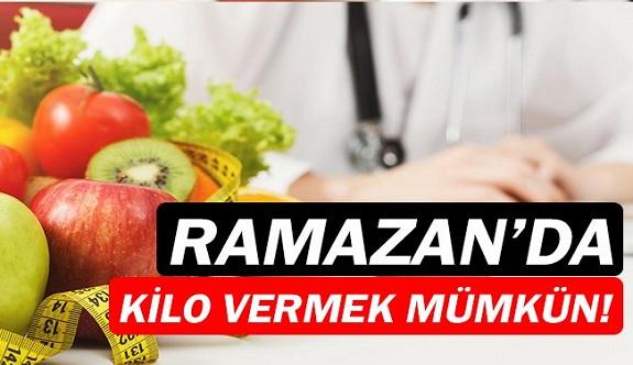 Ramazan'da kilo vermeye yardımcı öneriler.