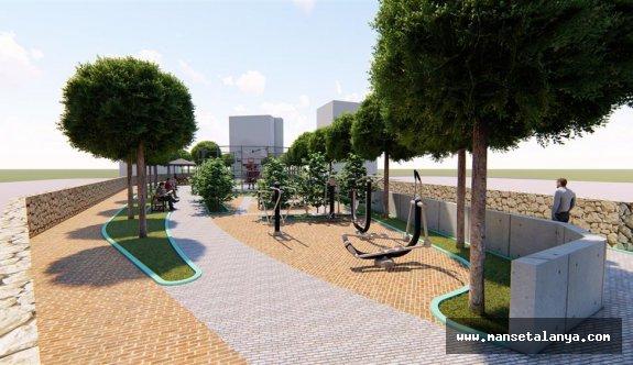 Tosmur'a yeni park!