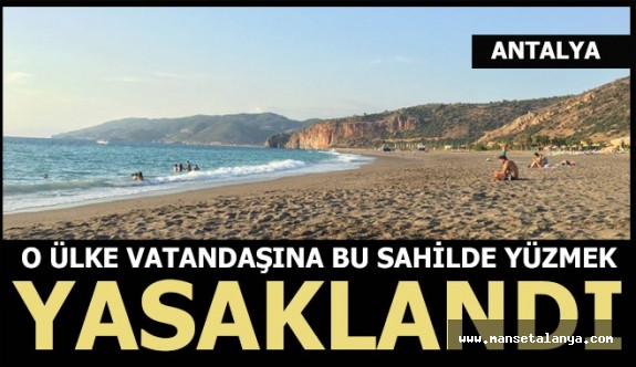 Gazipaşa meclisinden Suriyelilere 'plaj' yasağı