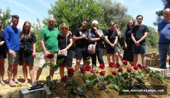 Gazipaşa'da yerleşik yabancıya Türk usulü cenaze töreni...