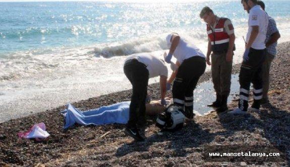 Polonyalı turist denizde boğuldu...