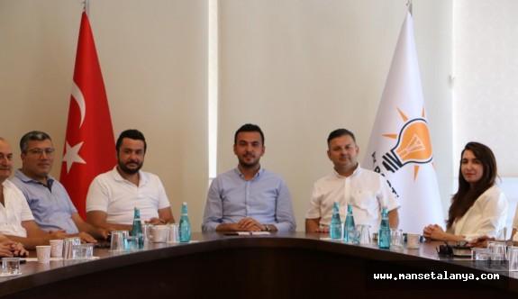 AKP'li Tokludan, Chp ve İyi Parti ilçe başkanlarına taş!