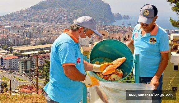 Alanya belediyesi vatandaşın ekmeğini değerlendiriyor!