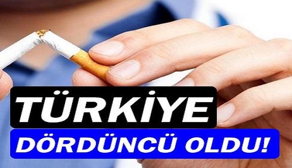 Sigara kullanımında Türkiye 4. sırada