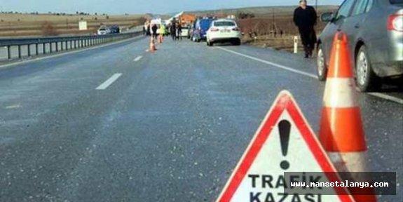 Tur otobüsü turiste çarptı: 1 turist öldü...!