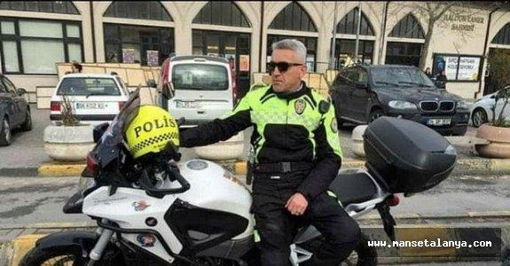 Alanya'da görev yapan polis memuru şehit oldu!