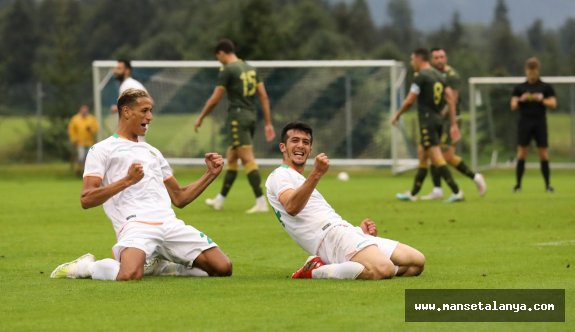 Alanyaspor-Brescia 2-0