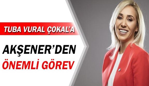 İYİ Partinin Manavgatlı Vekili Tuba Vural Çokal'a önemli görev!