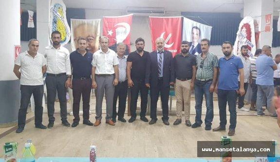 Yeniden Refah Partisi Alanya teşkilatını