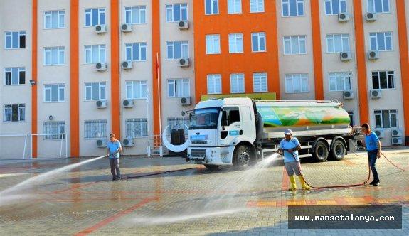 Alanya belediyesi okulları pırıl pırıl ediyor