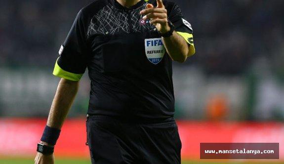 Alanyaspor-Fenerbahçe maçının hakemi!