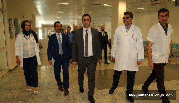ALKÜ Rektörü Kalan'ın ilk resmi ziyareti!