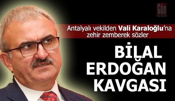 Bir vekil, ilk kez Antalya valisi için böyle ağır bir açıklama yaptı