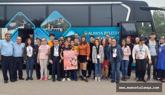 Alanya belediyesi ilk turnesini yaptı