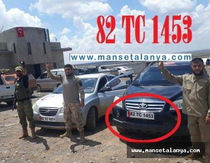Suriye sınırında Alanya'nın il olmasıyla ilgili plakalı mesaj!