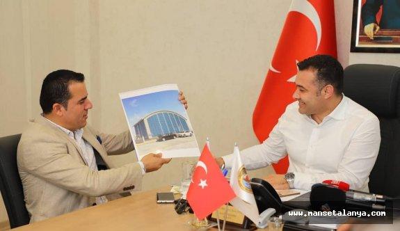 Başkan Yücel, TÜRSAB adayı Yılmaz'ın projesini beğendi!