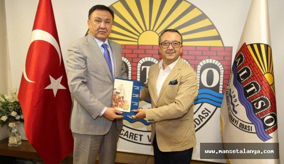 Kırgız Büyükelçisine Alanya brifingi!