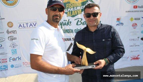 2. Alanya fıshıng tournament yarışı yapıldı