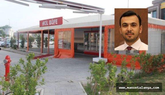 2 yıldır kapalı olan ALKÜ hastanesi kantinleriyle ilgili flaş açıklama!