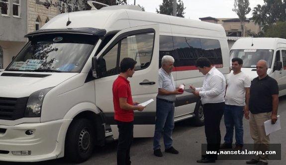 338 servis aracına güzergah belgesi verildi!
