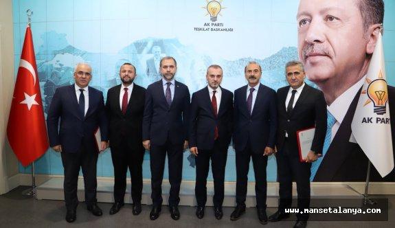 AKP'de Serik ve Demre ilçe başkanları görevden alındı ve yerine!