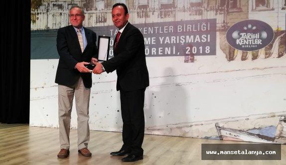 Alanya belediyesinin istikrarlı çalışması süreklilik ödülü getirdi!