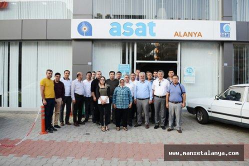 Alanya ve Gazipaşa arıtmalarını teknik ekip inceledi!