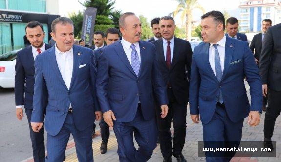 Bakan Çavuşoğlu'ndan taziye ziyareti