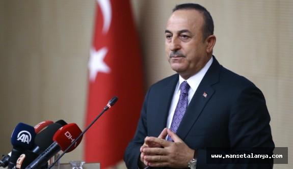 Bakan Mevlüt Çavuşoğlu o iddialara yanıt verdi