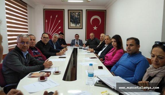 CHP Alanya kongresi tarihi belli oldu