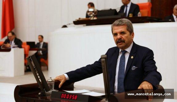 İyi Parti Antalya Milletvekili Bahşi, önemli bir konuyu meclise taşıdı!