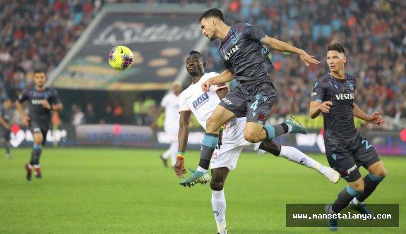 Trabzonspor - Alanyaspor maç sonucu: 1-0